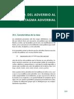 Del Adverbio Al Sintagma Adverbial