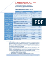 Calendario_preparación_JMJ2019_LaVega