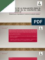 Resumen decreto de evaluacion /presentacion educava