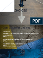 Carrer Choices