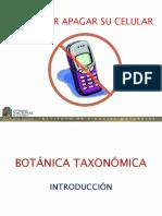 Botánica Taxonómica - Introducción