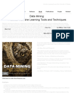 Data Mining - Practical Machine Learning Tools and Techniques Website