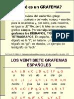 Los Grafemas