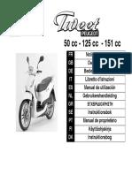 Tweet 125 Classic Manual de Usuario