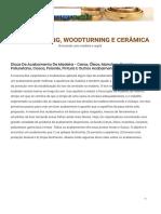 Dicas de Acabamento de Madeira - Ceras, Óleos, Manchas, Corantes, Poliuretano, Casca, Polonês, Pintura e Outros Acabamentos - Carpintaria, Madeira e Cerâmica