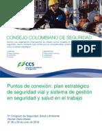 GID1031 2018 Puntos de Conexión Plan Estratégico de Seguridad Vial y Sistema de Gestión en Seguridad y Salud en El Trabajo Hernan Dario Alzate