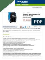1013160-Inversor Multiproceso Xmt 350 Cccv Miller