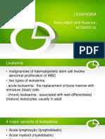 LEUKAEMIA in Eye Disease