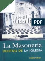 VIRION, PIERRE-La Masoneria Dentro de La Iglesia