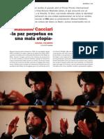 Massimo Cacciari «La Paz Perpetua Es Una Mala Utopia» 5327