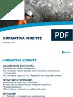 Presentación Normativa Vigente Explosivos