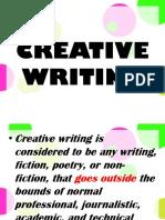 Cw_creative Writing Introduction