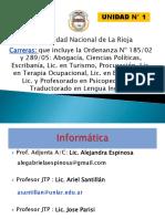 Unidad 1 Informatica Extracurricular