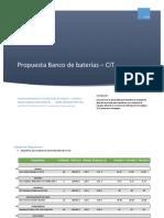 Banco de baterias propuesta
