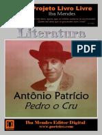 Pedro o Cru - Antonio Patricio - IBA MENDES