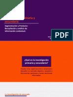 Investigación Primaria y Secundaria U.1.1.b AEC