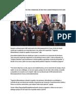 Martín Vizcarra No Nos Van a Doblegar, No Nos Van a Ganar Porque de Este Lado Está El Pueblo