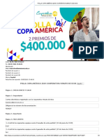 Polla Copa América 2019 Cooperativa Minuto de Dios