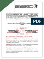 Información D. Criminología y Ciencias Forenses - 2019
