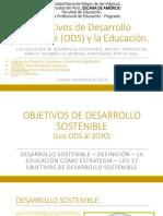 Objetivos de Desarrollo Sostenible (ODS) y La Educación