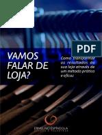 E-Book Vamos Falar de Loja 3993363