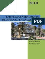 Brochure de Emgedea 2018