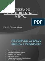 Historia de La Salud Mental y Psiquiatria 2019-1