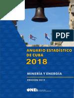 Anuario Estadistico de Cuba 2018 Mineria y Energia.pdf