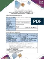 Guía de Actividades y Rúbrica de Evaluación - Paso 1 - Introducción a Las Sucesiones y Progresiones