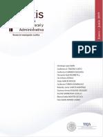 Praxis de La Justicia Fiscal y Administrativa