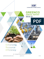 GreenCo Annual Report 2019