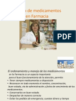Manejo de Medicamentos en Farmacia