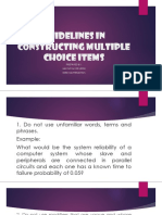 Guidelines in constructing multiple choice items.pptx