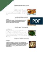 Comida Tipica de Los Garifunas