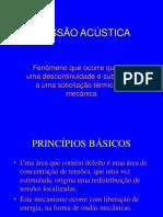 Apresentação EMISSÃO ACÚSTICA