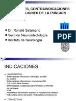 Contraindicaciones de la puncion lumbar