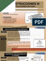 CONSTRUCCIONES SANITARIAS