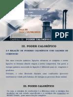 2019-IT_III-Poder Calorífico (Aula 6)