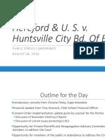 Hereford & U. S. v. Huntsville City Bd. of Ed