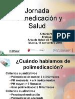 Polimedicación y Salud, Murcia 2010