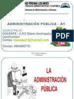 Definición de Administración Publica