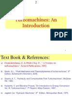 Turbo machine Introduction IITM
