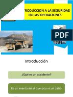 Introducción a la seguridad en minas