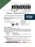 Edisi 1 - Dasar Radiologi I