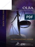 Ontario Labor Relations Act Labour relations OLRA.pdf