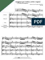 Concerto Stravaganza Op.4 no 12 g major