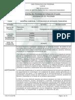 133202 Asesoria Comercial y Apoyo a Entidades Financieras