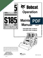 S185. Manual Opr y Mtto