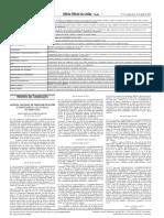 Portaria 096-15_Pág. 5 - Altera Tabela 1 e 2 Da Res. Contran 291-08