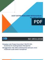 Materi  ISO 19011-2018